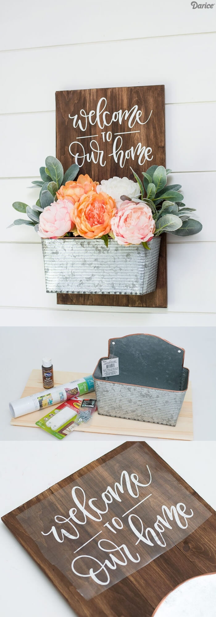 Welcome to my home | Best Spring Porch Sign Decor Ideas & Designs