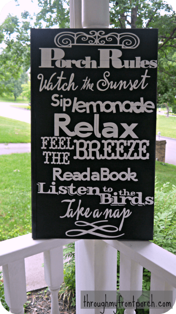 Porch Rules Sign | Best Spring Porch Sign Decor Ideas & Designs