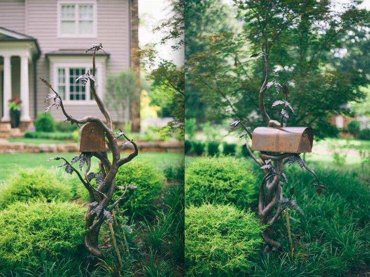 Customized mailbox | Best Mailbox Landscaping Ideas