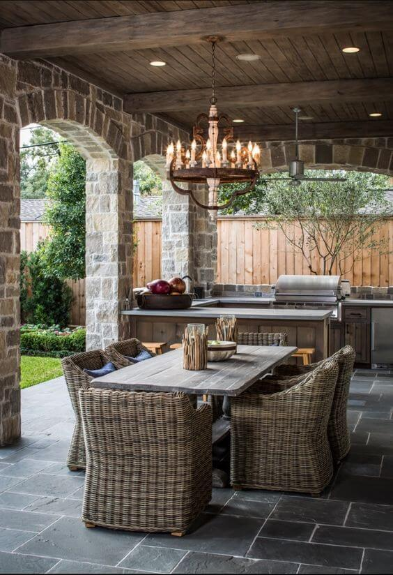 European Outdoor Kitchen | DIY Outdoor Kitchen Ideas (Cheap, Simple, Modern, and Country)