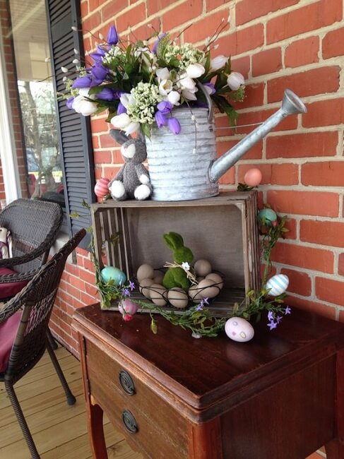 Easter Decor Front Porch | Best Easter Porch Decorating Ideas