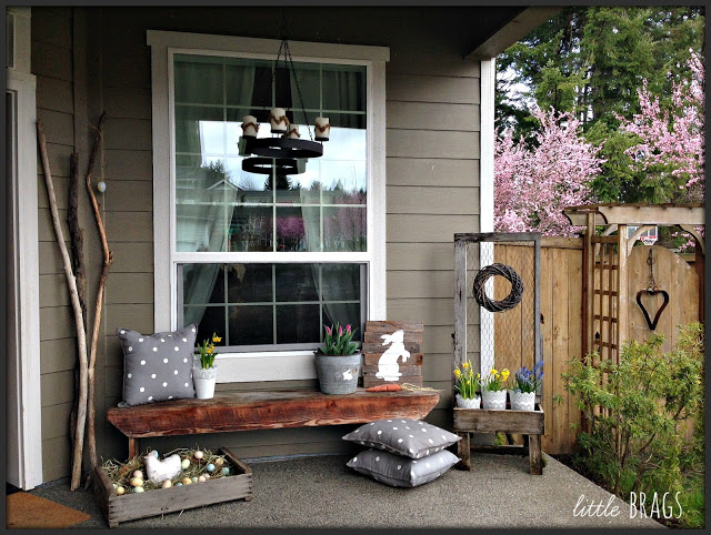 Rabbit's hay | Best Easter Porch Decorating Ideas