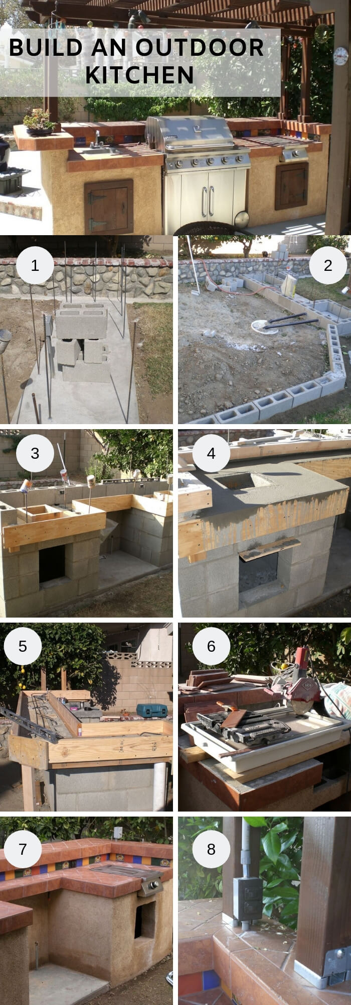 How to build an outdoor kitchen | DIY Outdoor Kitchen Ideas (Cheap, Simple, Modern, and Country)
