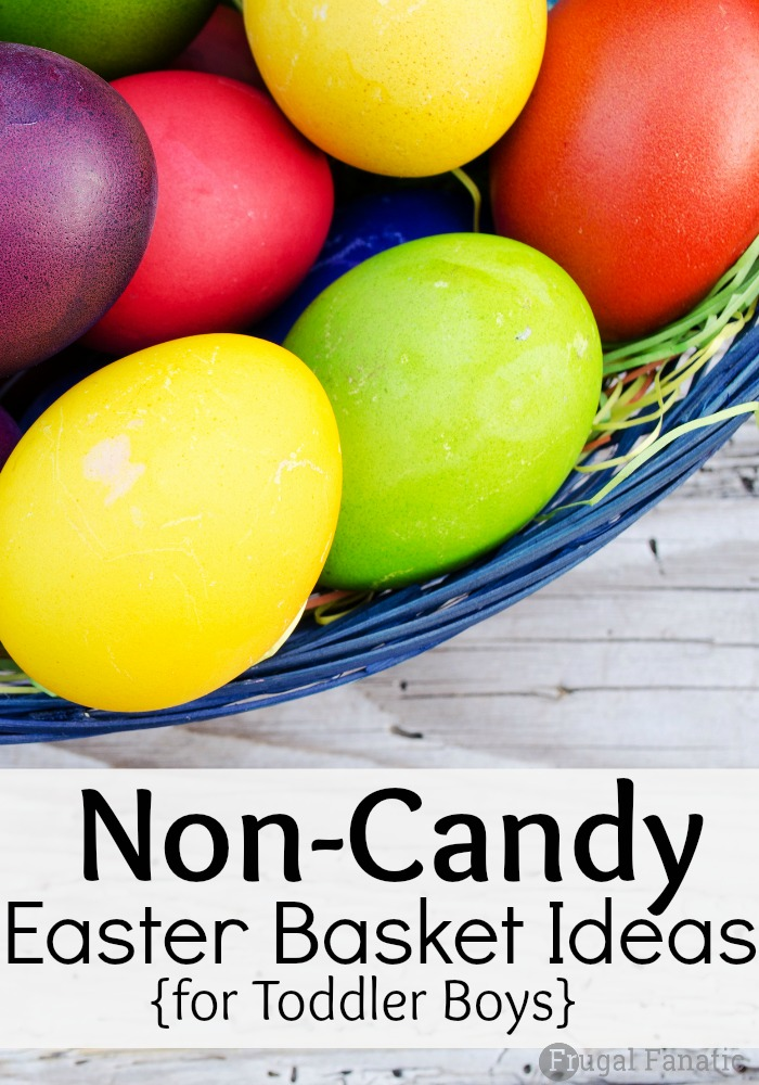 Non Candy Easter Basket