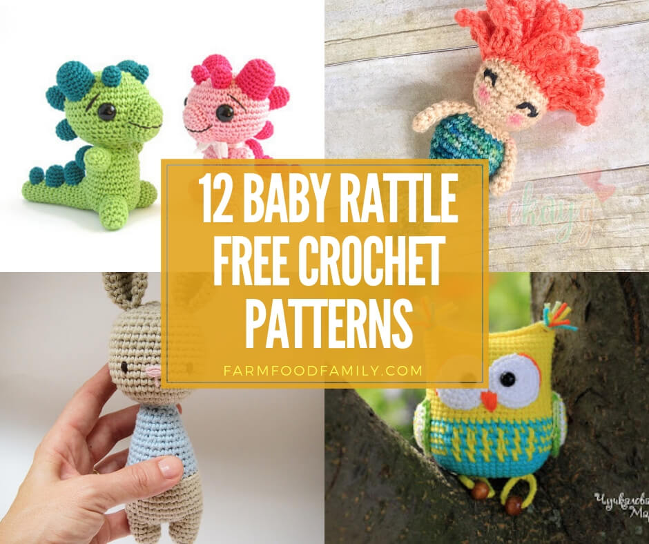 Rattle free crochet patterns for baby