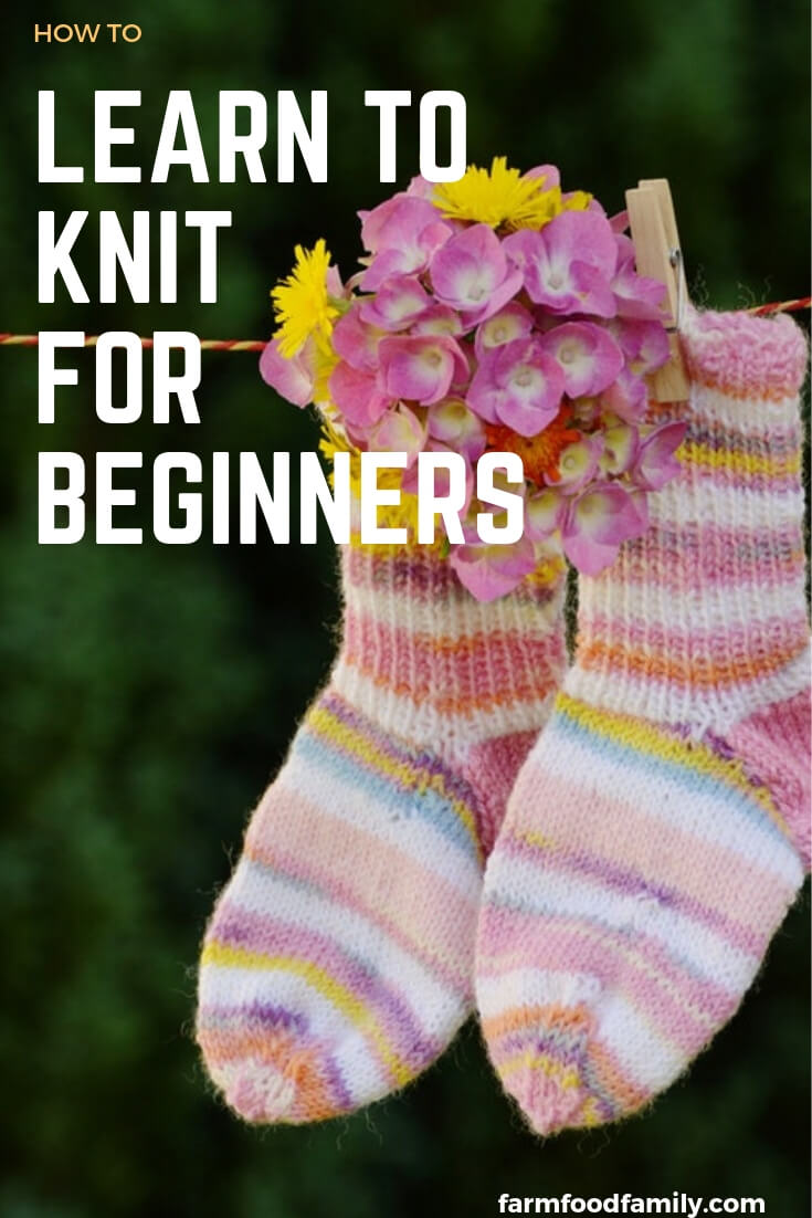 How to Learn to Knit and Find Knitting Supplies for beginners