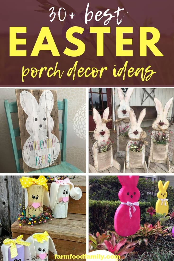 30+ Best Easter Porch Decor Ideas This Spring