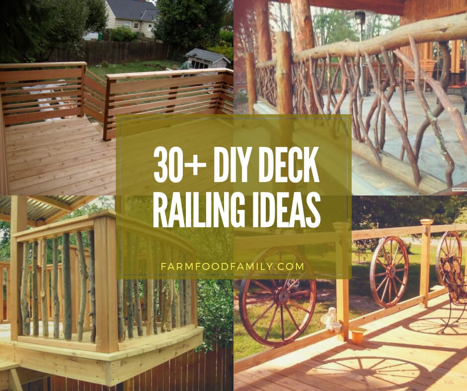 30 Awesome Diy Deck Railing Designs Ideas For 2019