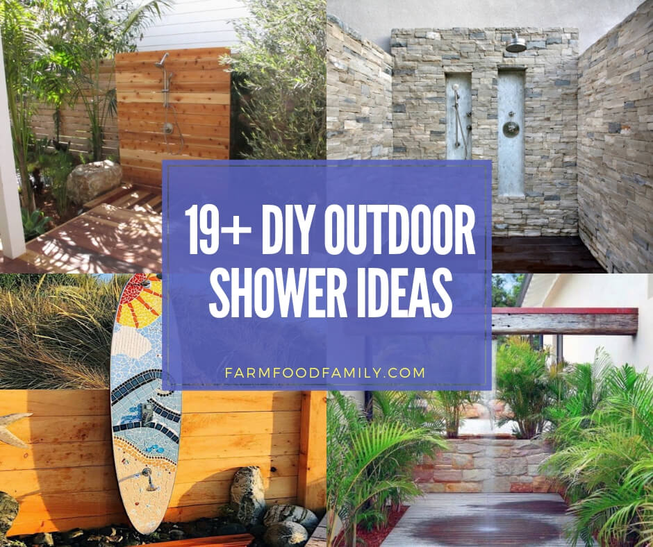 best outdoor shower ideas