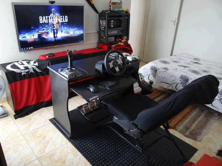 Games | Arcade Style Game Room Design | Cool Bedroom Ideas For Boys