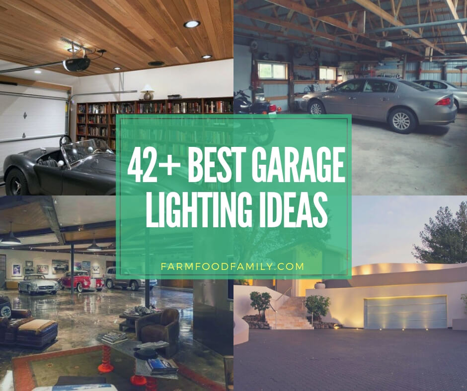 Best garage lighting ideas for interior and exterior