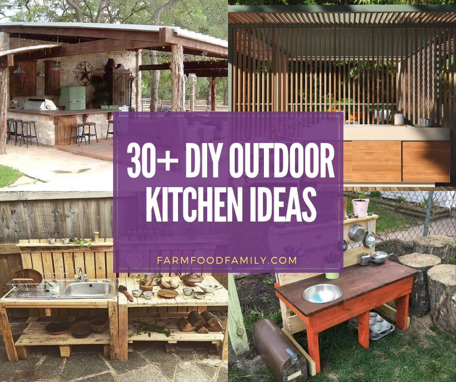 Looking For Outdoor Kitchen Inspiration: 31+ Stunning Outdoor Kitchen Ideas & Designs (With