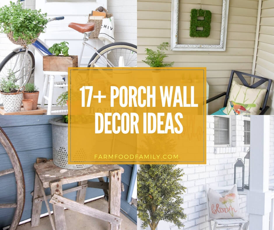 17+ Stunning Outdoor Wall Decor Ideas & Designs To