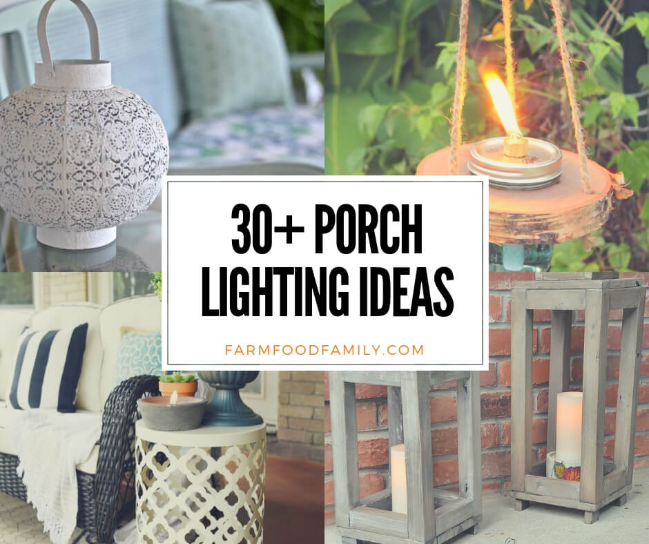 30 Stunning Porch Lighting Ideas Designs For 2019