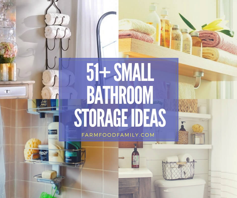 Best small bathroom storage ideas
