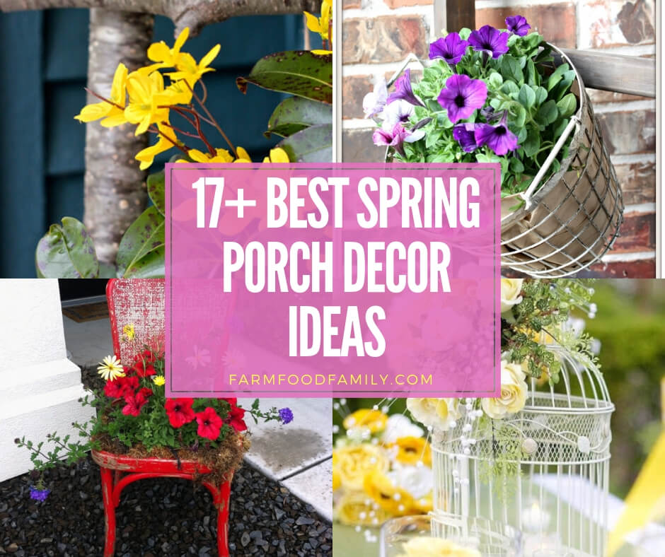 Best Spring Porch Decor Ideas