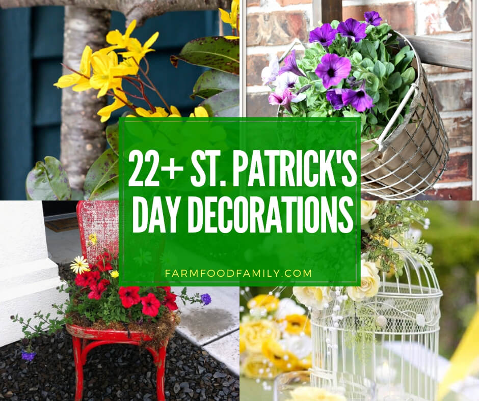 22+ Best St. Patrick\'s Day Decor & Craft Ideas For 2019