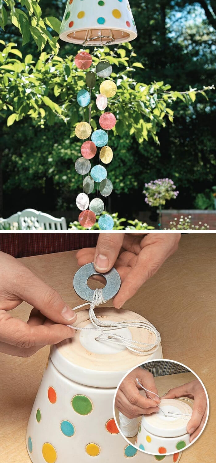 Colorful DIYWind Chimes