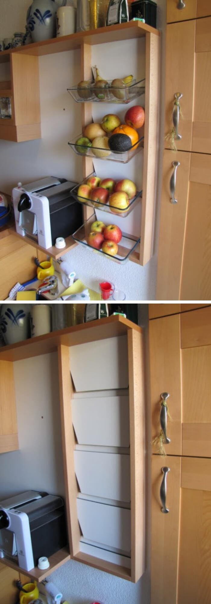 Fruit Shelf | Best Fruit and Vegetable Storage Ideas For Your Kitchen
