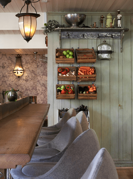 Wooden Crate Storage | Best Fruit and Vegetable Storage Ideas For Your Kitchen