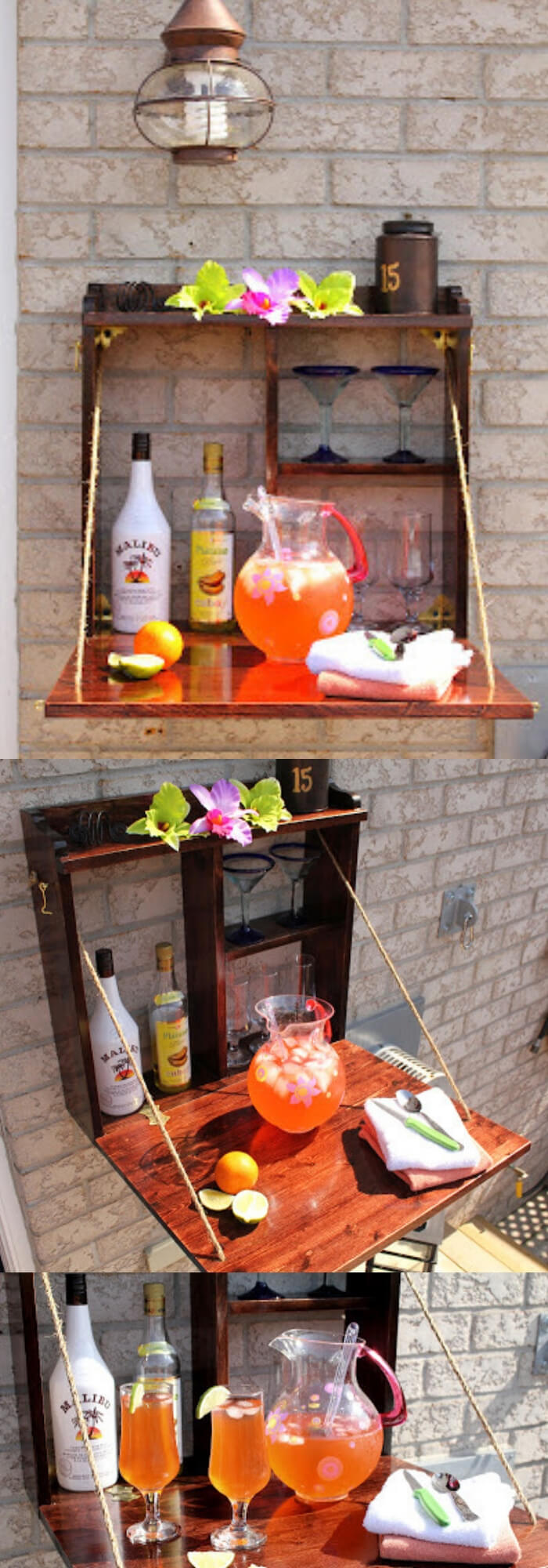 DIY Backyard Bar | DIY Backyard Projects For Summer | FarmFoodFamily