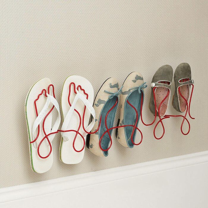 Wire Shoe Rack | Smart Shoe Storage Ideas & Designs For Any Zoom Size