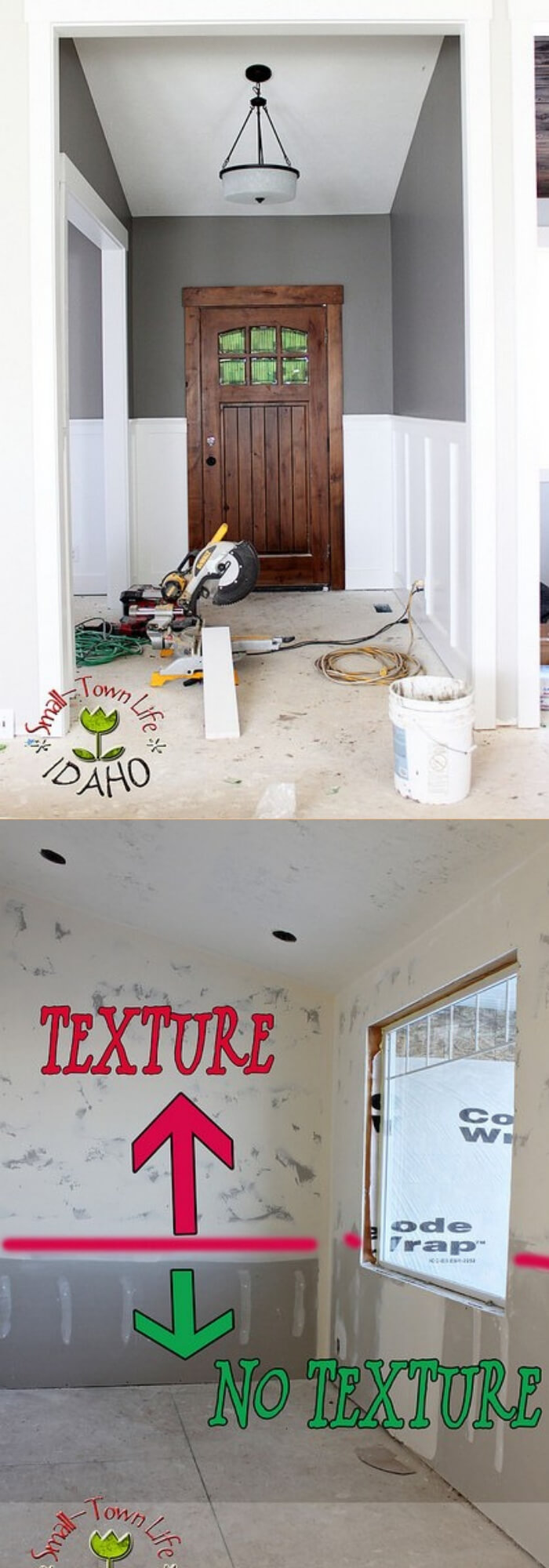 DIYboard and batten wainscoting | Amazing Wainscoting Ideas for Your New Home