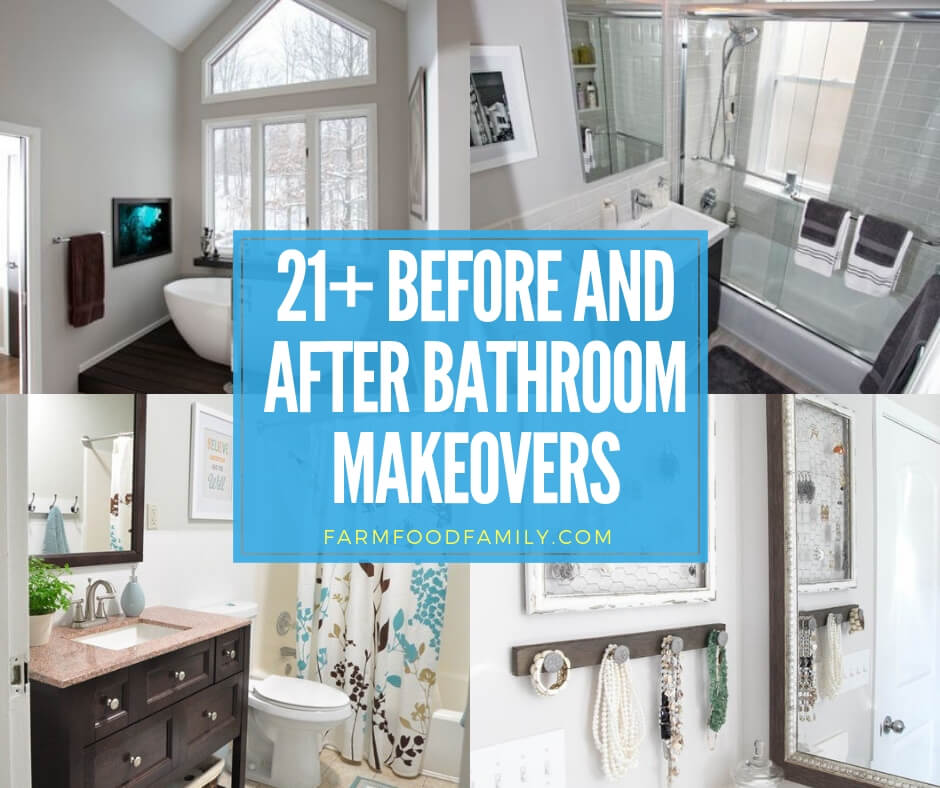 stunning before and after bathroom makeovers