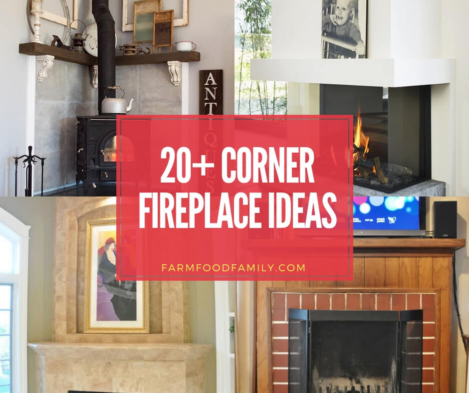 best corner fireplace ideas