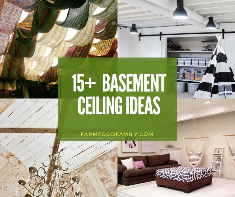best basement ceiling ideas for your home