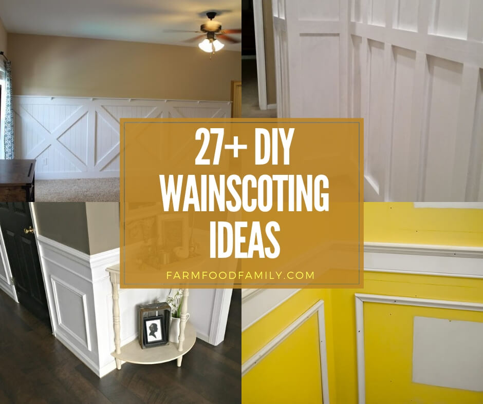 best diy wainscoting ideas