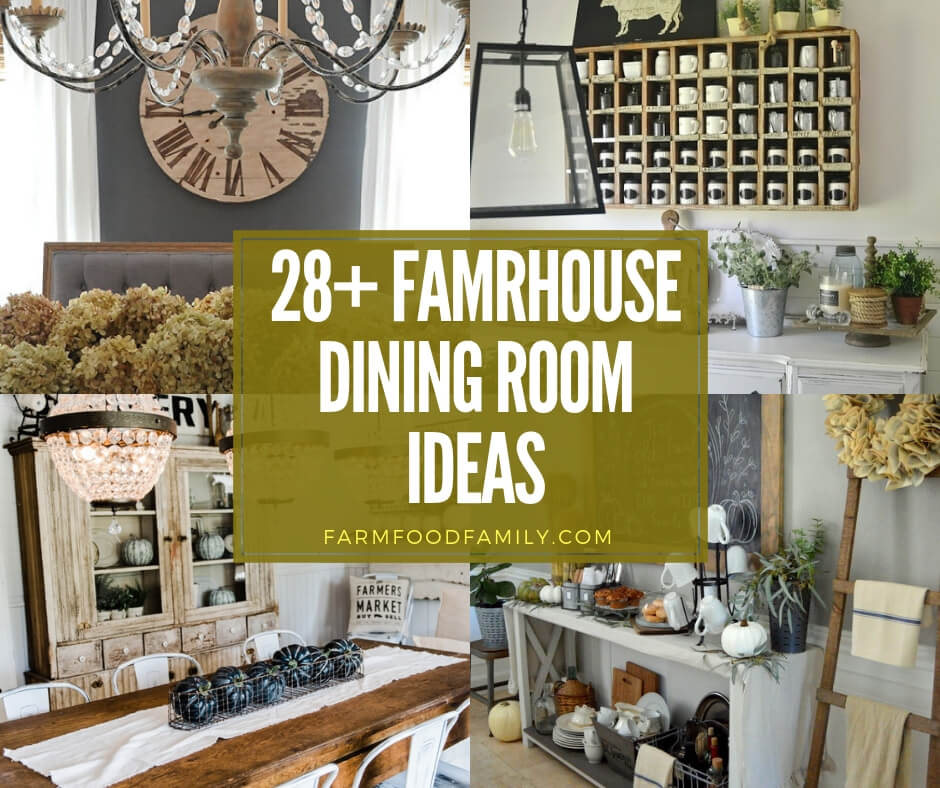 best farmhouse dining room design & decor ideas