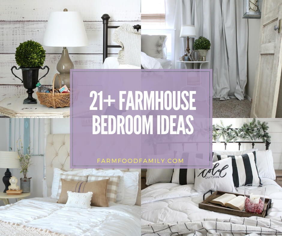 Best farmhouse bedroom ideas & designs