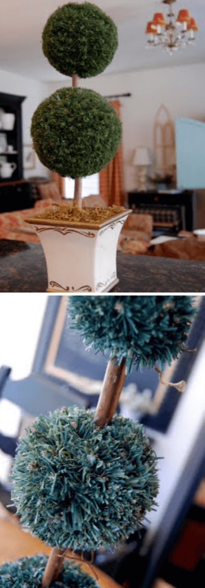 how to make a topiary tree in pot for beginners Moss Topiary