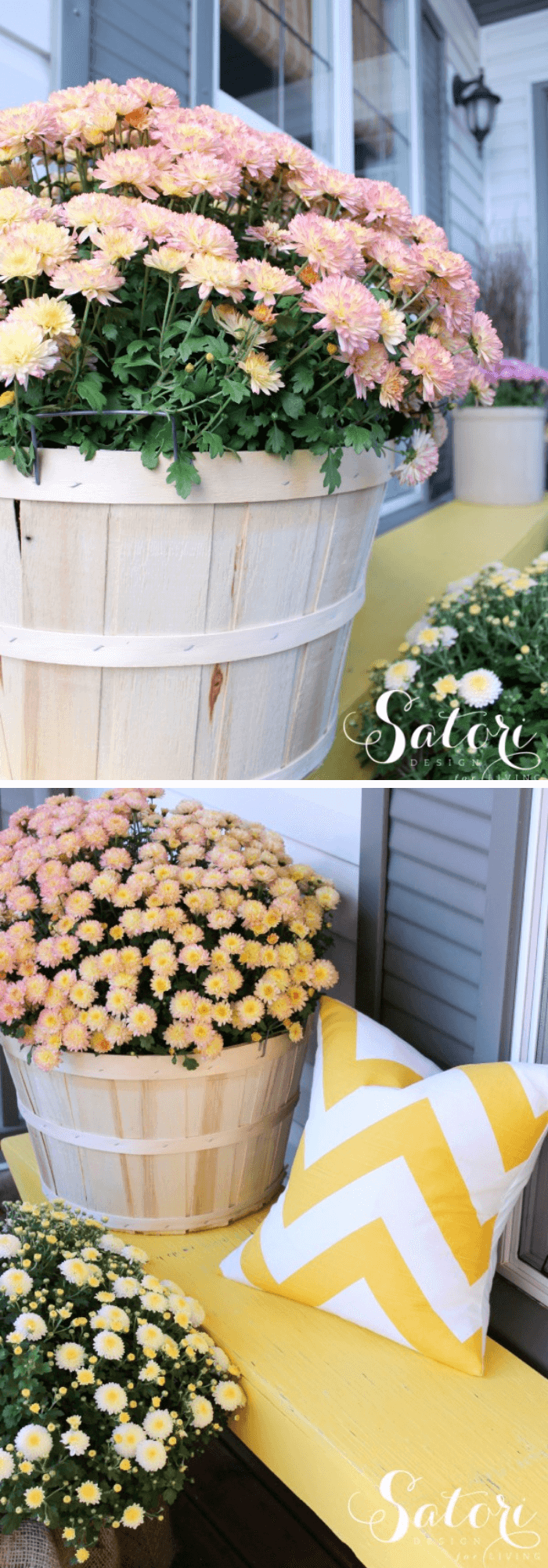 Create a welcoming fall front porch
