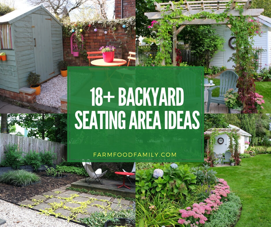 18+ Beautiful Backyard Seating Area Ideas & Designs For 2019 on ideas for backyard spa, ideas for backyard playground, ideas for backyard porch, ideas for backyard deck, ideas for backyard garden,