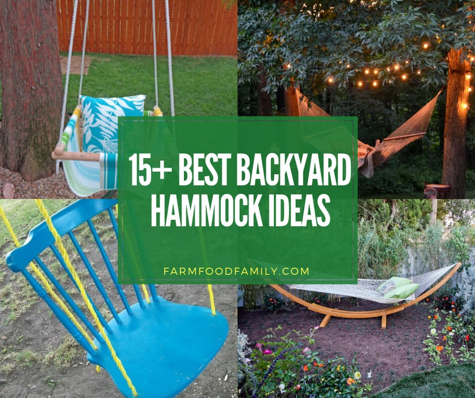 best backyard hammock ideas