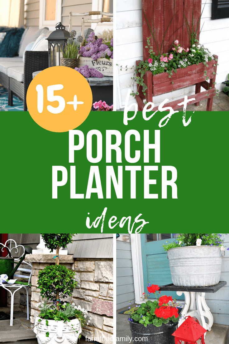 Best Porch Planter Ideas & Designs