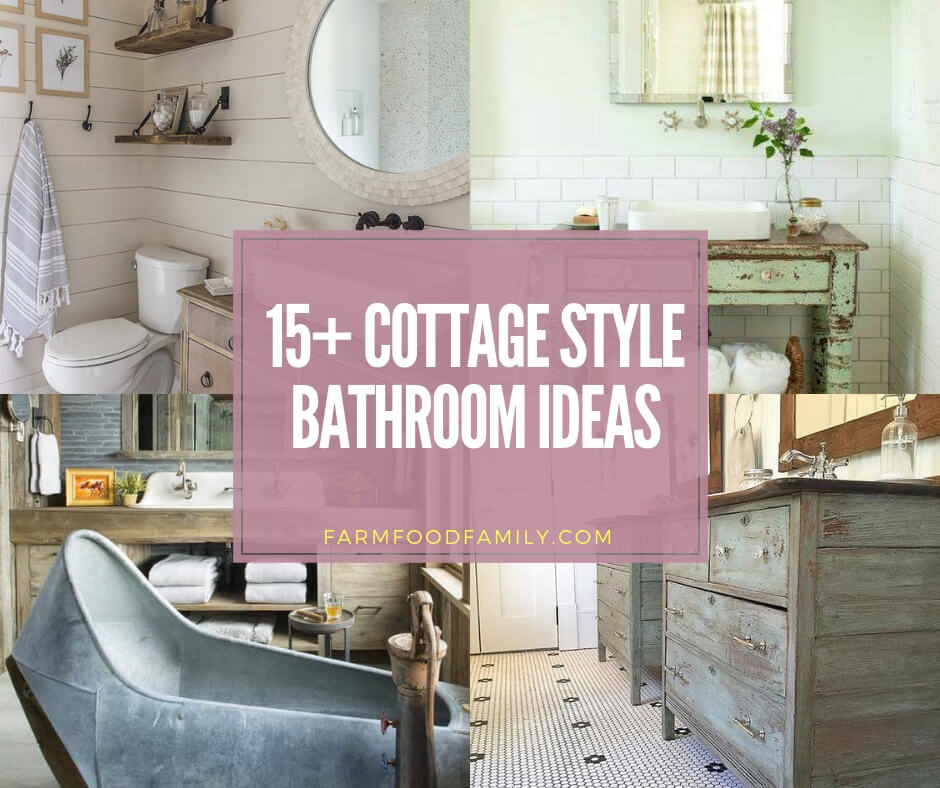 best cottage style bathroom ideas