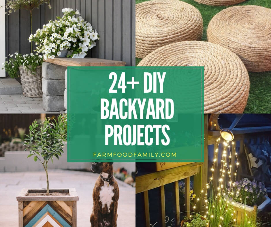 best diy backyard project ideas