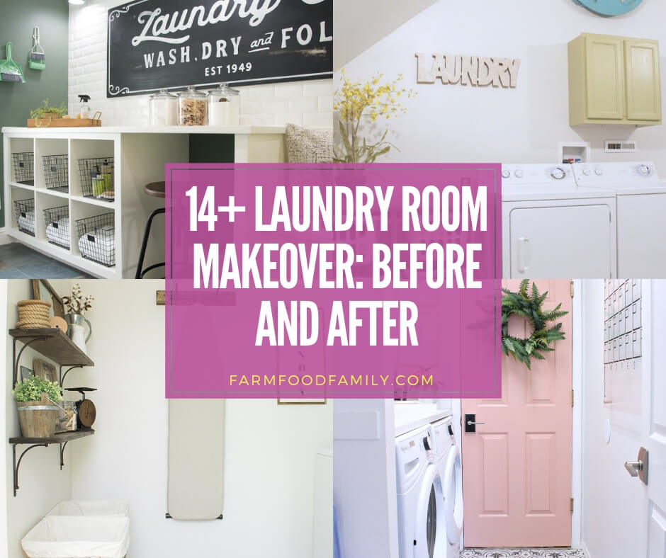 best laundry room makeover: before and after