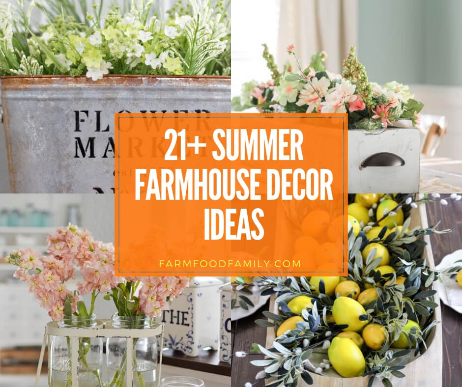 best summer farmhouse decor ideas