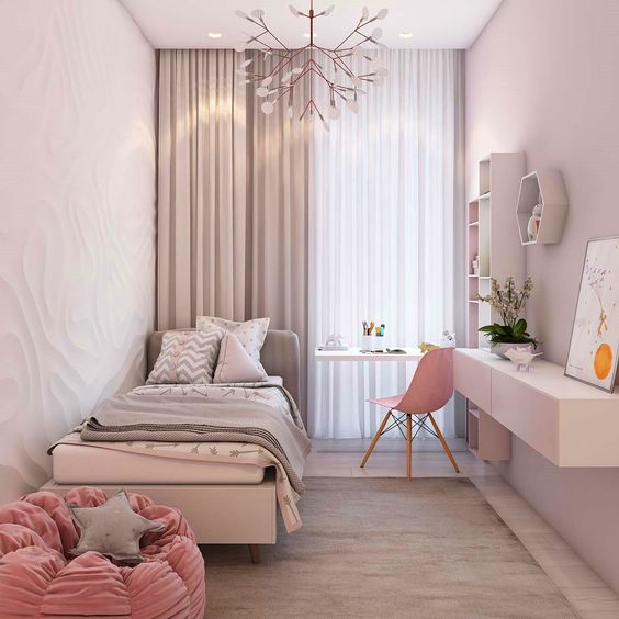 A simple design for small rooms