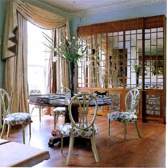 Classic eclectic dining room design
