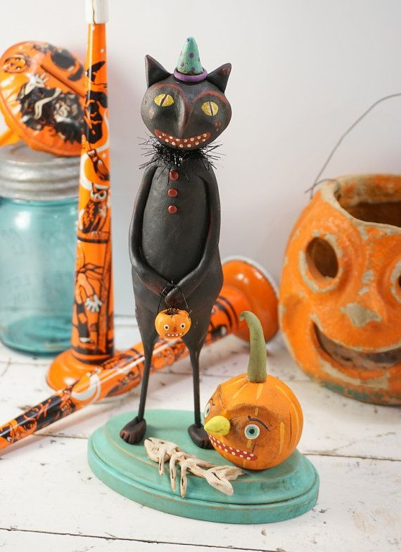 Cat ornament for halloween