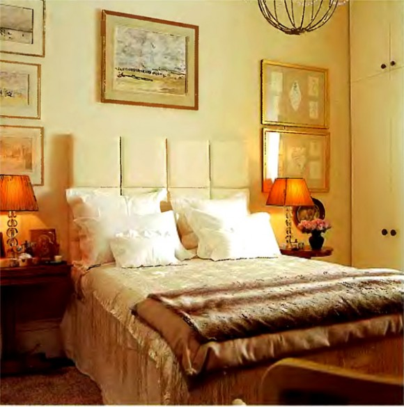 Eclectic contemporary bedroom furniture design