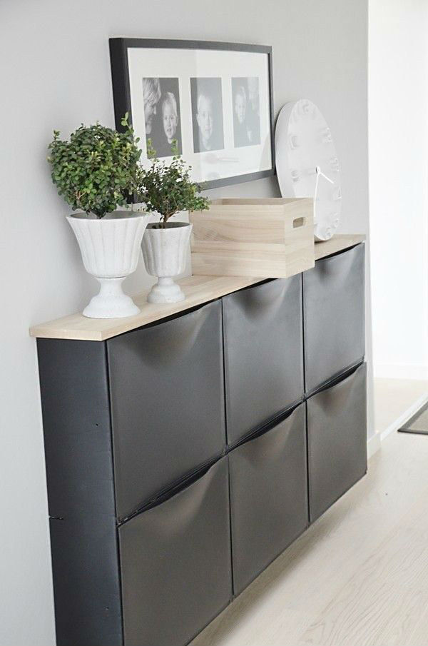Chest of drawers located in the dining area