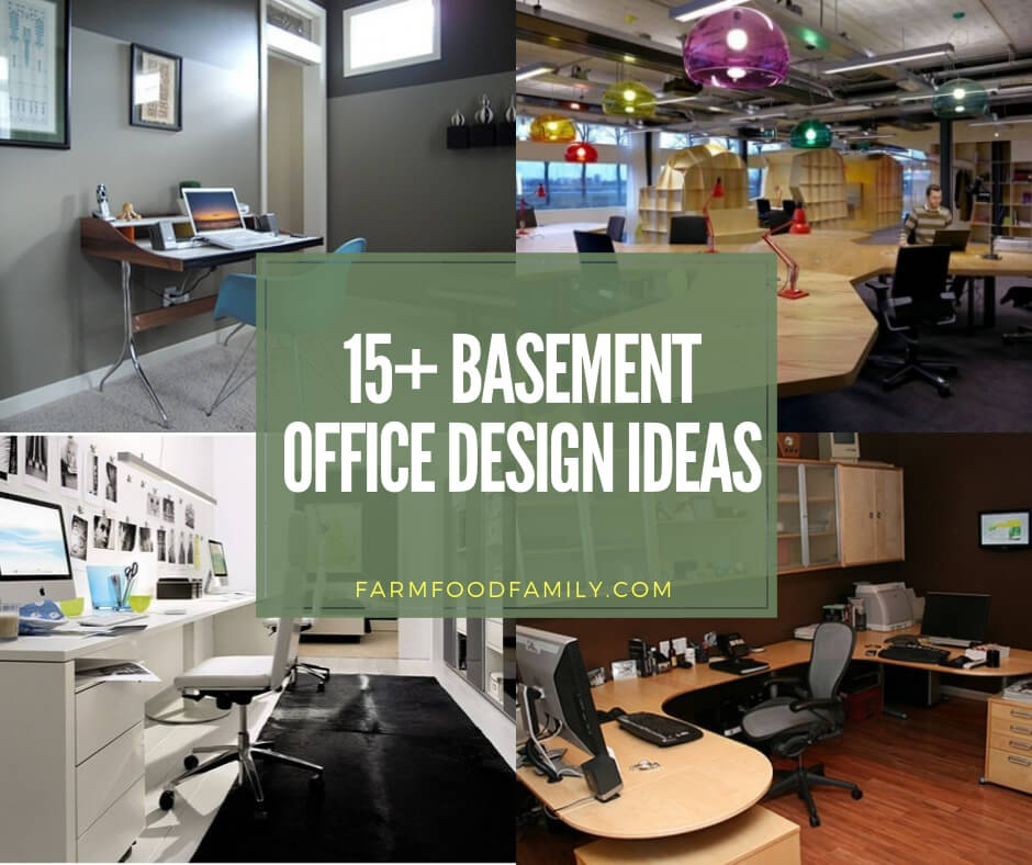 Basement Layout Design Ideas: 15+ Best Basement Office Ideas & Designs For 2020