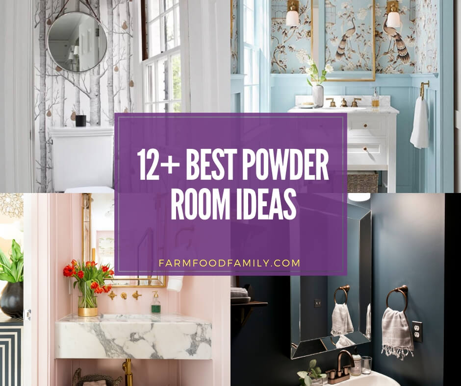 best powder room ideas for your house