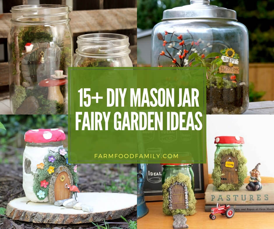 best mason jar fairy garden ideas